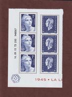 4986 & 4987 De 2015 - Neuf ** - Coin Numéroté & Daté De 6 Timbres - 70è Anniversaire De La Libération - émis Qu'en Feuil - Ecken (Datum)