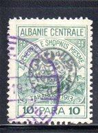 XP4051 - ALBANIA  CENTRALE , 10 Para Usato - Albania