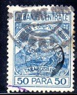 XP4056 - ALBANIA  CENTRALE , 50 Para Usato - Albania