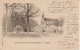 91. SGE - SAINT-GERMAIN-les-CORBEIL , L'église - Other Municipalities