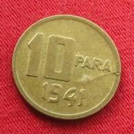 Turkey 10 Para 1941 KM# 868  Turquia Turquie Turchia Turkije - Turquie