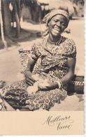 "Belle Africaine ""Meilleurs Vœux "" - Burkina Faso"