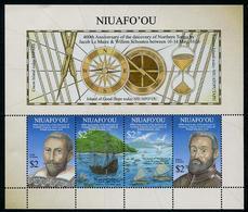 NIUAFO'OU (TONGA) - 2016 - 400e Ann Decouverte Des Iles - BF Neuf // Mnh - Tonga (1970-...)