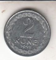 KROATIEN    NDH  2  KUNE  1941 - Croatie
