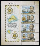 TONGA 2016 - Bateaux, 400e Ann Decouverte Des Iles - BF Neuf // Mn - Tonga (1970-...)