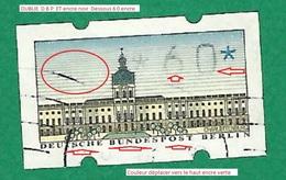 * 1987 N° 1 Distributeurs Château De Charlottenburg 60 P  Oblitéré - [5] Berlin