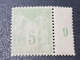 """""""Type Sage"""" N° 102 Neuf * Gomme D'Origine, Bon Centrage à 15 % De La Cote  TTB - 1876-1878 Sage (Type I)"""