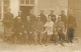 Militaria - Carte Photo De Soldats GVC Du 66e RI - Garde Voie De Communication - Non Situé - Guerre 1914-18