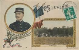 Militaria - Carte Souvenir ELD - En Batterie - Postée D'Equeurdreville (Manche) - Patriotiques