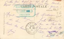 Marcophilie - Cachet De L'Hopital Complémentaire N°52 à ARCACHON En 1915 - Marcophilie (Lettres)