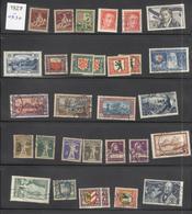 Lot Timbres Suisses 1927-1930 - Oblitérés Ou Neufs Avec Traces De Charnières - Suisse