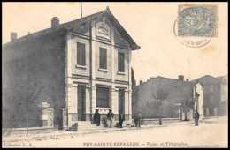 4564 Carte Postale (postcard) Bouches Du Rhone Le Puy-Sainte-Réparade N°111 Pour Vidauban VAR 1906 - Marcophilie (Lettres)