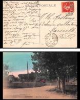 4636 Carte Postale (postcard) Bouches Du Rhone Gare De Rognac Ferroviaire N°194 Pour Marseille 1927 - Storia Postale