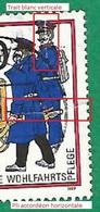 * 1989 N° 815 Histoire Des Postes Charrette Postale En Prusse   Oblitéré Dos Tache D'encre B.T ZUM BZ - [5] Berlin