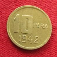 Turkey 10 Para 1942 KM# 868  Turquia Turquie Turchia Turkije - Turquie