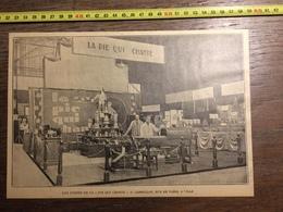 ANNEES 20/30 STANDS DE LA PIE QUI CHANTE CORNILLOT RUE DE PARIS LILLE - Collections