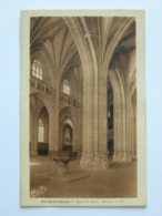 BOURG EN BRESSE (01/Ain) - Eglise De Brou, Bénitier Et Nef - Brou - Iglesia
