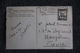 Timbre Sur Carte - Poste Vaticane 25 - De ROME ( ITALIE) Vers MONTPELLIER ( FRANCE). - Covers & Documents