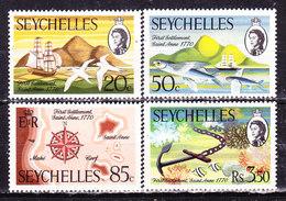 Seychelles 1970 Serie Completa Nuova MLLH - Seychelles (...-1976)