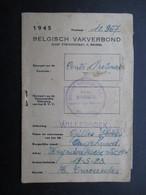 VP BELGISCH VAKVERBOND (M1902) WILLEBROEK (5 Vues) ABVV CCTB CGT 1945 1946 - 1939-45