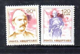 XP4060 - ALBANIA  1991 , Yvert Serie N. 2251/2252  *** - Albania