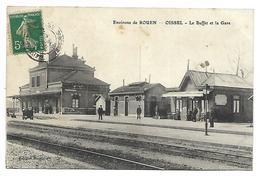 OISSEL - Le Buffet Et La Gare - Non Classés