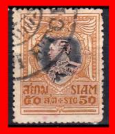 TAILANDIA SIAM AÑO 1905-08 KING  VAJIRAVUDH - Tailandia