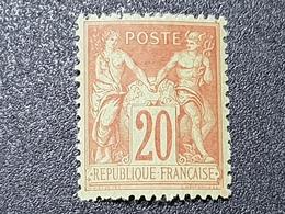 """""""Type Sage"""" N° 96 Neuf ** Gomme D'Origine, Bon Centrage à 16 % De La Cote  TTB - 1876-1898 Sage (Type II)"""