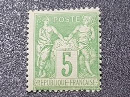 """""""Type Sage"""" N° 106 Neuf ** Gomme D'Origine à 16 % De La Cote  TTB - 1876-1898 Sage (Type II)"""