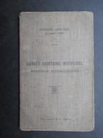 VP MILITARIA (M1902) CARNET SANITAIRE INDIVIDUEL (5 Vues) Armée Belge 6e D.A. 12e DIV INF - 1er Régiment De Grenadier 5e - 1914-18