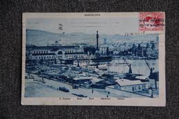 Timbre Sur Carte - De BARCELONE ( ESPAGNE) à CACHAN ( FRANCE). - 1931-50 Briefe U. Dokumente