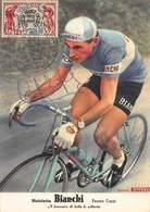 CPA Bicicletta BIANCHI - Fausto Coppi - Il Binomio Di Tutte Le Vittorie - Cyclisme