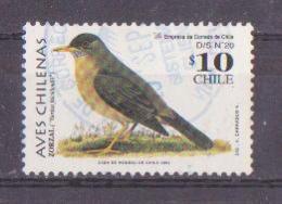 69-232b / CHILE -2002  BIRDS  Mi 2060 O - Chili