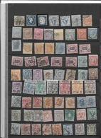 Italy  Collection Mint And Used + Some Colonies And Areas (19 Scans) - Sellos