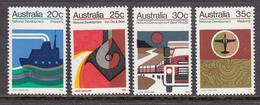 Australia MNH Michel Nr 522/25 From 1973 / Catw 8.50 EUR - 1966-79 Elizabeth II