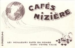 """CAFES NIZIERE   """" LES MEILLEURS CAFES DU MONDE DANS VOTRE TASSE""""  ALGERIE - Coffee & Tea"""