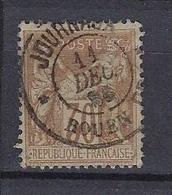 France 1876-78 Sage Y&T N° 80 Journaux - 1876-1898 Sage (Tipo II)