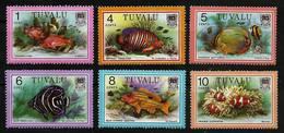TUVALU 1979 - FISHES From The Sea / Oceans - Var. 6v Mi MNH ** V829c - Tuvalu