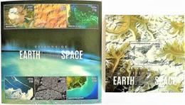 # Liberia 2015**Mi.6613-19 Satellite Images Of The Earth , MNH [15;150] - Raumfahrt