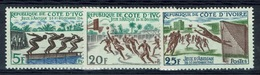Ivory Coast, Friendship Games, Abidjan, 1961, MH VF - Ivory Coast (1960-...)