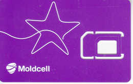 Moldova , Moldavie ,  SIMcard , GSM , Moldcell , Used - Romania