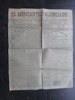 VP ESPAGNE (M1902) EL MERCANTIL VALENCIANO (2 VUES) Num 18.173 - LUNES 5 MAYO 1919 - [1] Until 1980