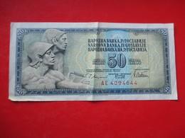 X1- 50 Dinara 1978.Yugoslavia- Circulated. - Yugoslavia