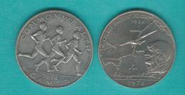 Samoa - Tunamafili II - 1 Tala - 1978 - Transpacific Flight (KM28) Commonwealth Games (KM30) - Samoa
