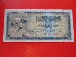 X1- 50 Dinara 1968.Yugoslavia- Circulated. - Yugoslavia