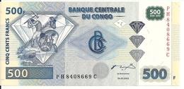 CONGO 500 FRANCS 2002 UNC P 96 - Congo