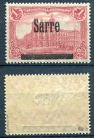 Saargebiet Michel-Nr. 17AI Postfrisch - Geprüft - 1920-35 Saargebiet – Abstimmungsgebiet