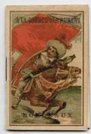 """Petit Calendrier Publicitaire """"à La Source Des Rubans, Bordeaux"""" - Année 1890 - 6,3 X 4,2 Cm - TBE - Publicité"""
