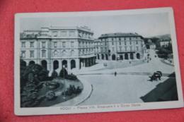Alessandria Acqui Terme Piazza V. E. II E Corso Dante  1937 - Altre Città