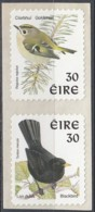 Ireland 1998 (AVE131) (MNH) - Goldcrest (Regulus Regulus) And  Common Blackbird (Turdus Merula) - Sa Strip - Pájaros Cantores (Passeri)